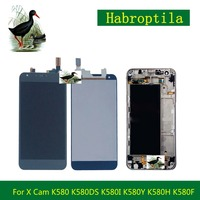 For LG X Cam K580 K580DS K580I K580Y K580H K580F Assembly LCD Display Touch Screen Digitizer