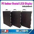 Крытый из светодиодов видеостены P5 небольшой 5 мм picth высокая производительность из светодиодов витрины умирают - из литого алюминия 0.64 x 0.64 м
