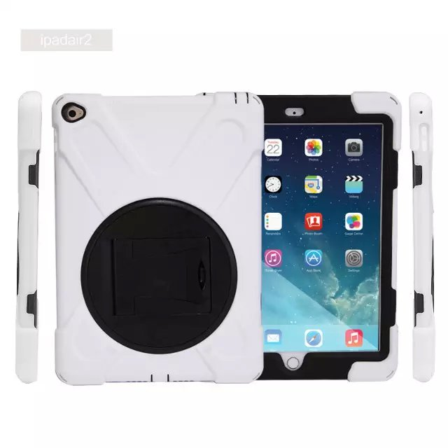Extreme Army Military Heavy Duty Cover Case Kickstand for Apple iPad 6 Air 2 Kids Children Gift Soft Silicone with 360 Rotating тимиредис упасть в небо запад и восток