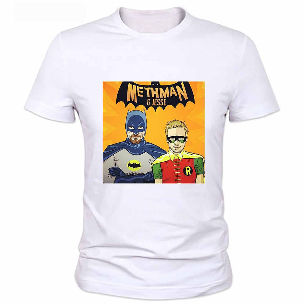 Plus Size 3XL Mode T-Shirt Zomer Straat Hipster Tshirts Cool Breaking bad Shirts Walter White Heisenberg Tees Tops