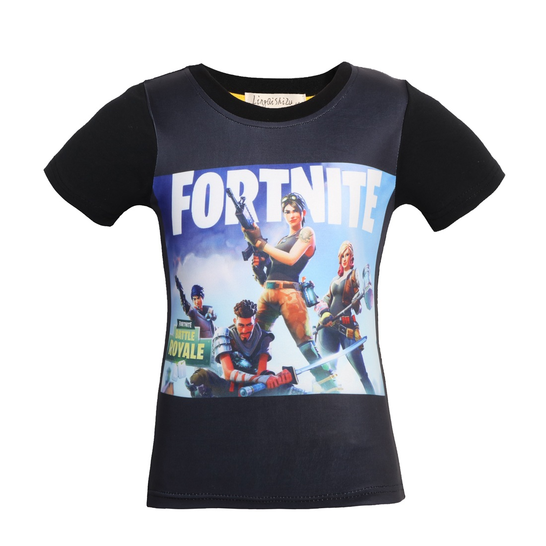 7b712bf1 Summer Boy Survival Game Fortress Cartoon T-Shirt Short Sleeve Print  Childrens T Shirt 100% Cotton Top Baby Girl Kids Clothing
