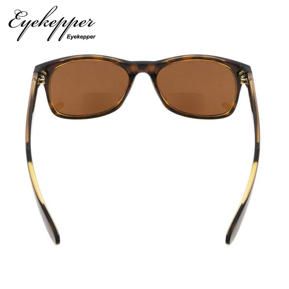 8a147cb0fd R093 Bifocal Eyekepper Classic Bifocal Sunglasses Men Women (Grey Lens Brown  Lens) +1.0 1.25 1.5 1.75 2.0 2.25 2.5 3.0-in Reading Glasses from Apparel  ...