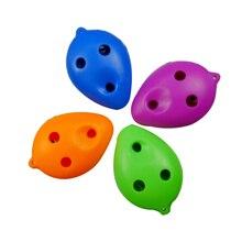 6 отверстий ABS пластик тройной C окарина для начинающих 6 отверстий окарина