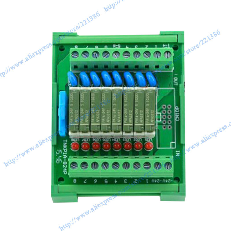 8 bit Pa1a 5V 5A relay Module driver board output amplifier board PLC board relay 5V