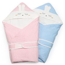 Brand Newborn baby Autumn Winter thickening parisarc Soft comfortable Toddler sleeping bag 100%cotton high quality swaddle 1pc