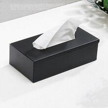 304 нержавеющая сталь держатель коробки ткани черная отделка квадратная коробка для салфеток крышка настенный держатель туалетной бумаги держатель салфетки