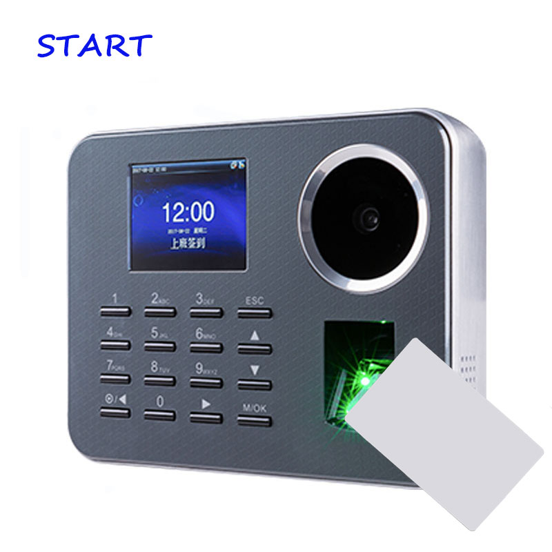 Iclock360-P Biometric Palme Time Attendance BioID With Rfid Card Fingerprint Electronic Time Recording For Employee Attendance