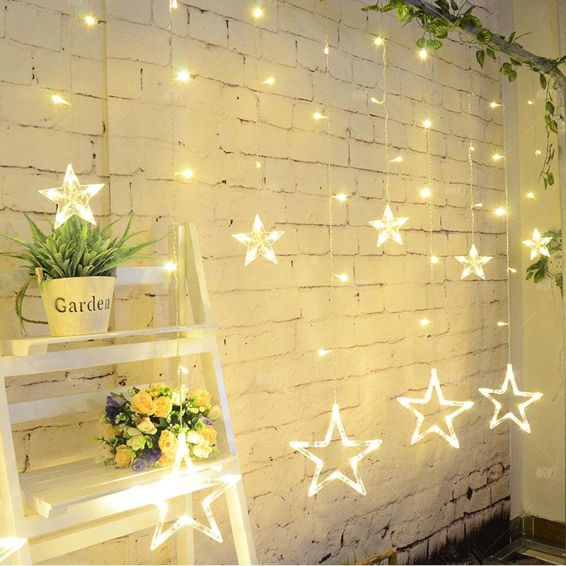 Outstanding Wall Christmas Lights Decorations Model - Wall Art ...