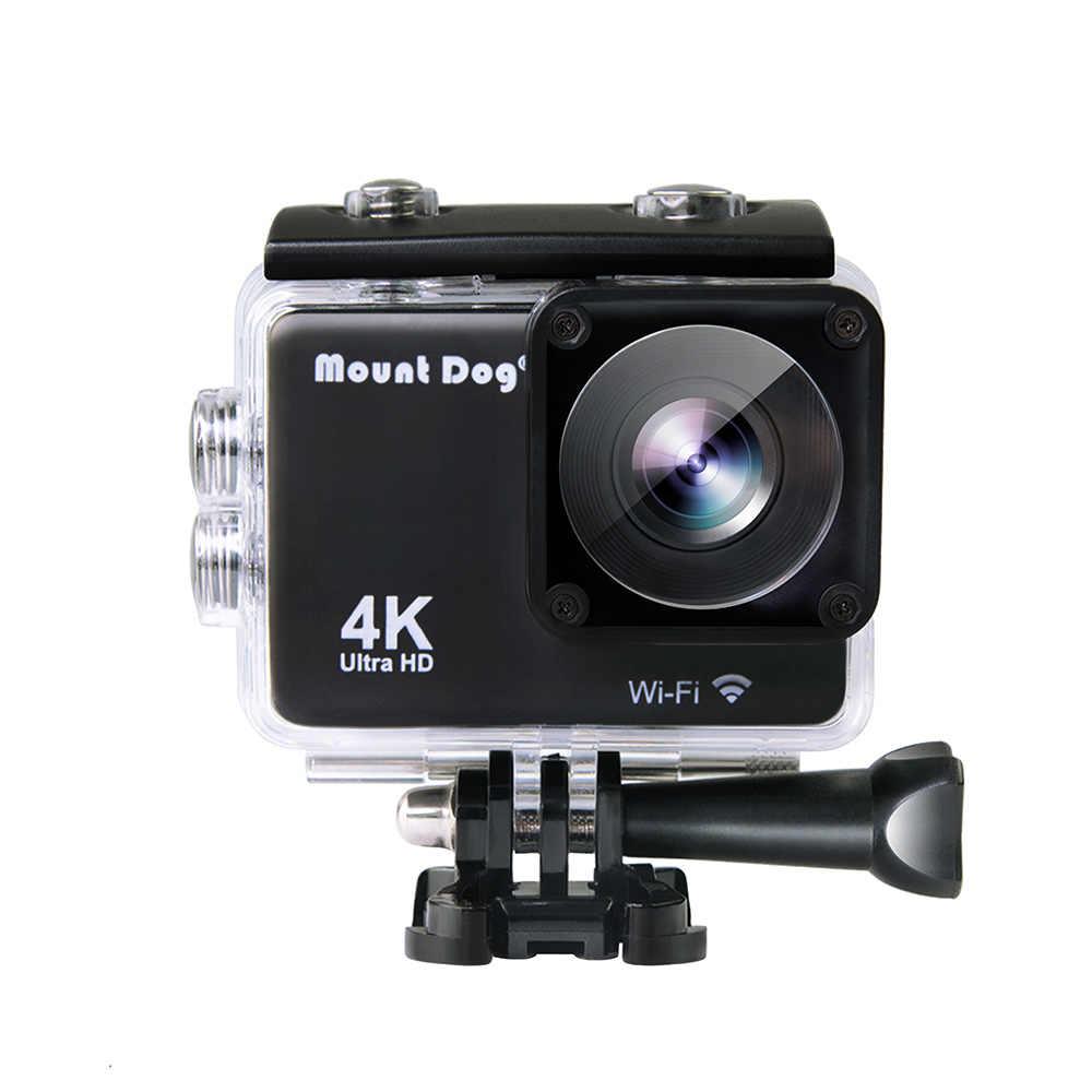Mountdog Action Camera Ultra HD 4 K WIFI Olahraga Video Camcorder DVR Dsrl MD4247 Tahan Air Pergi Pro Aksesoris Kamera