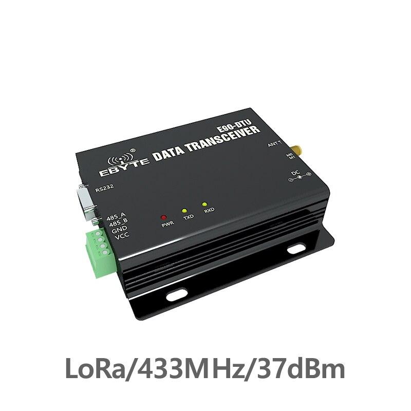 E90-DTU-433L37 émetteur-récepteur sans fil LoRa RS232 RS485 433 MHz 5 W longue Distance 20 km récepteur émetteur-récepteur PLC 433 MHz Modem Radio