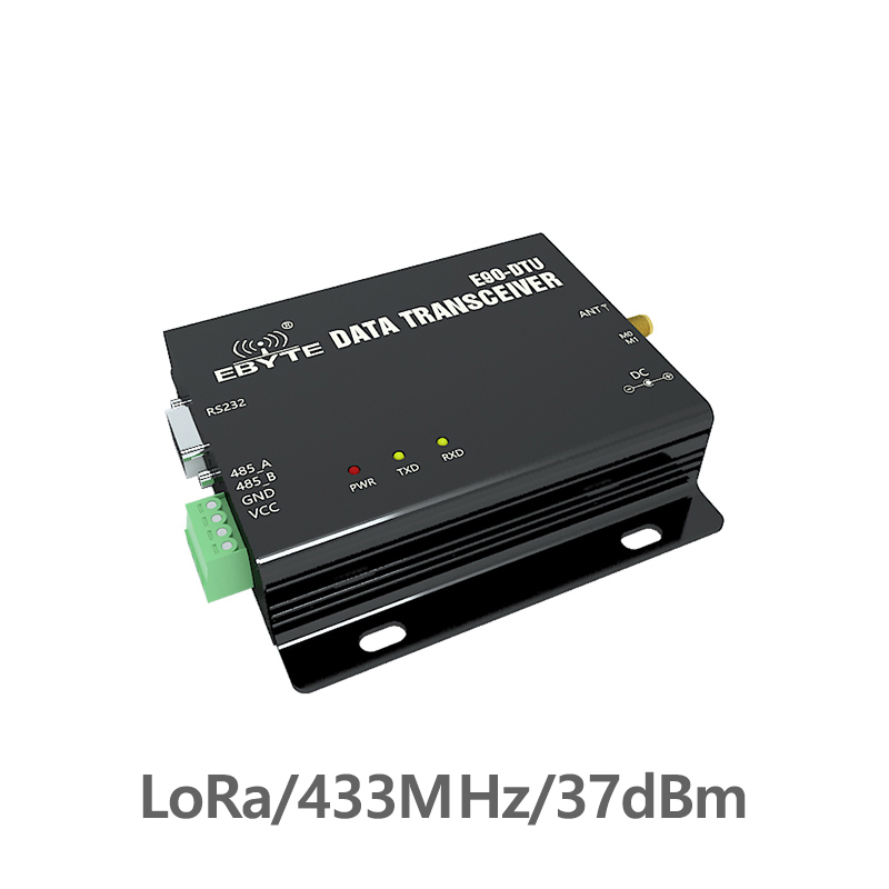 E90-DTU-433L37  LoRa RS232 RS485 Wireless Transceiver 433MHz 5W Long Distance 20km PLC Transceiver Receiver 433 MHz Radio ModemE90-DTU-433L37  LoRa RS232 RS485 Wireless Transceiver 433MHz 5W Long Distance 20km PLC Transceiver Receiver 433 MHz Radio Modem