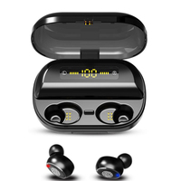 V11s Wireless Earphones Touch control Bluetooth 5.0 Auto Pairing Headset for iPhone Samsung Bluetooth Earbuds with Charging Case