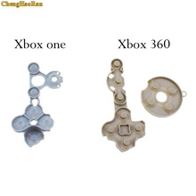цена на 1x Controller Conductive Rubber Contact Pad Button D-Pad for Xbox 360/Xbox One wireless Controller Replacement repair part D pad