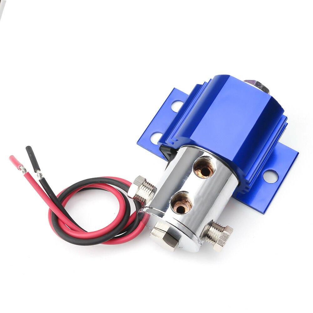 Nouveau 1 Pc bleu serrure de ligne avant de Type lourd serrure de frein support de contrôle de rouleau + Kit de commutateur