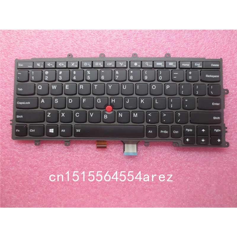 Nouvel ordinateur portable D'origine Lenovo ThinkPad X230S X240 X240S X250 X260 clavier rétroéclairé avec Trackpoint US Anglais 04Y0900