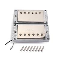 2pcs/set Guitar Humbucker Pickup Dual Coil for LP Electric Guitar with Mounting Screws