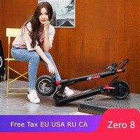 MACURY Zero 8 Электрический Скутер Складной 8 дюймов мини скутер легкость вместо ходьбы скутер универсальный скутер