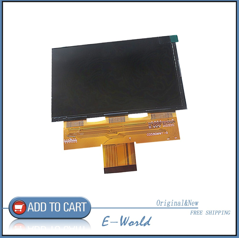 For CL720 CL720D CL760 5.8 Inch Projector LCD Screen C058GWW1-0  C058GWW1 Free Shipping