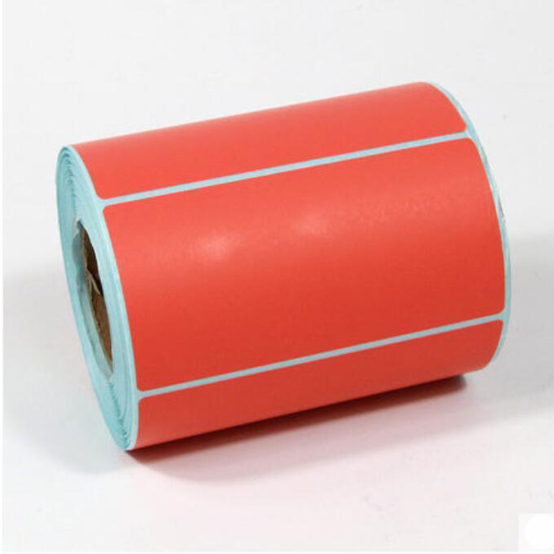 High quality hot bar code 100*50*500 PCS label barcode paper label thermal paper roll of colored labels no ribbon printing  цены