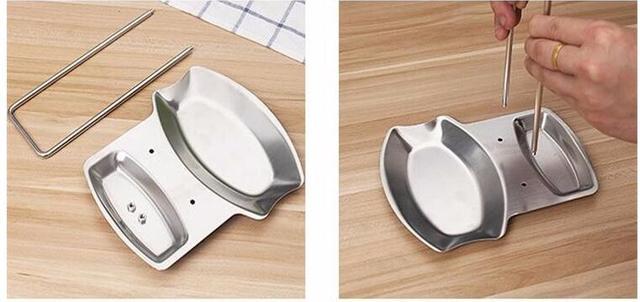 1pcs kitchen accessories stainless steel pot lid shelf kitchen organizer pan cover lid rack. Black Bedroom Furniture Sets. Home Design Ideas