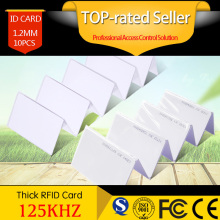 Realhelp 10pcs EM4100/EM4102 RFID Card 125Khz ID Cards Door Control Entry Access EM Card Smart Card цены