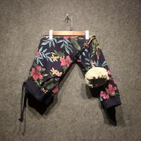 Fashion Brand Original Design Drawstring Pants Couple Pants Casual Cotton Pants Printed Trousers Hip Hop Pencil
