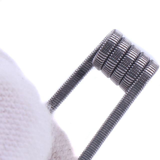 XFKM NI80/A1/316 5m/roll Alien fused Clapton for RDA RBA Rebuildable Atomizer Heating Wires Coil Tool Alien Clapton Heating Wire 2