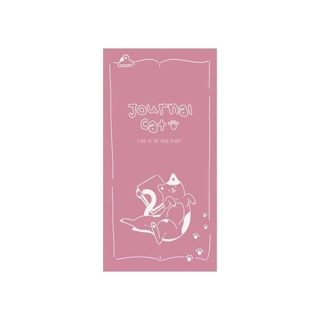 Kawaii Cute Cat Memo Pad Word Pocket Book Weekly Planner List Notepad 5