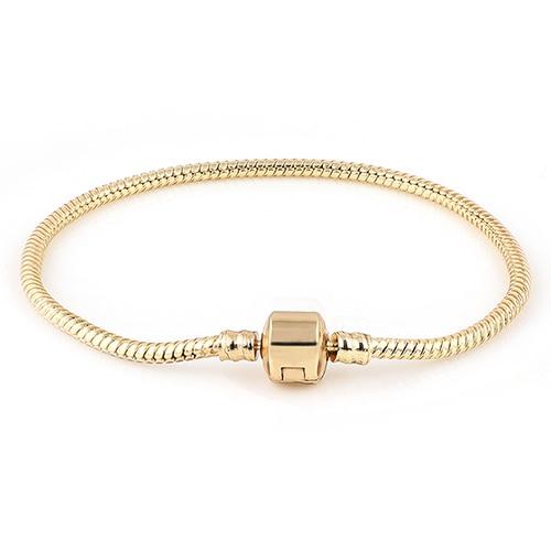 Չամիլիայի ապարանջաններ Ոսկե գույնի - Նորաձև զարդեր - Լուսանկար 4