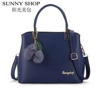 SUNNY SHOP Luxury Handbags Women Bags Designer Shoulder Bags Women Famous Brand Sac A Main Crossbody