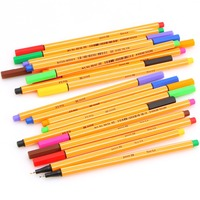 25 Pieces LOT New Hot STABILO 88 Fiber Pens Schwan Stabilo Sketch Hook Thread Pen Art
