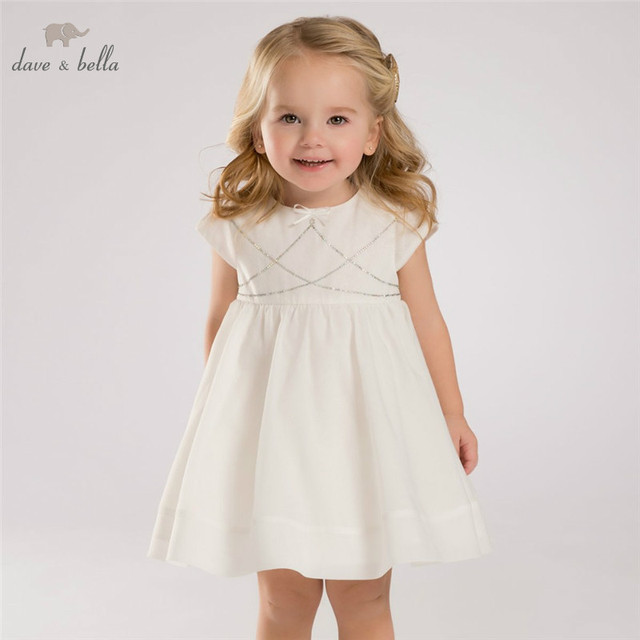 b08d52d812d DB3416 dave bella summer baby girl princess dress baby wedding dress kids  birthday clothes dress
