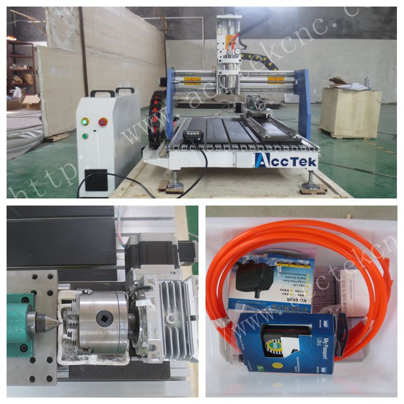 Nouveau!! 2018 Bon prix 4 axe CNC routeur/machine cnc kit