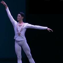 Dostosowane Man White Ballet Dance tuniki kurtki Prince Jacket profesjonalne Classical Ballet Man Dance kostiumy detalicznych hurtowych tanie tanio Balet Mężczyzn Poliester spandex Rayon Mikrofibra bawełna