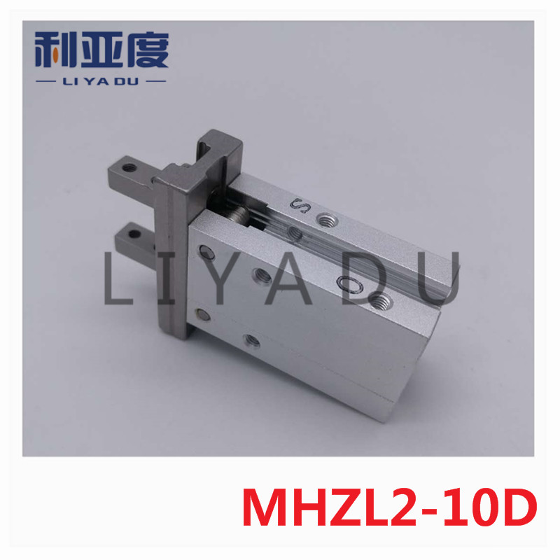 MHZL2-10D SMC finger cylinder long stroke parallel open and closed type gas claw / pneumatic finger MHZL2 10D mhzl2 10d mhzl2 16d mhzl2 25d smc finger cylinder air cylinder pneumatic component air tools mhzl2 series
