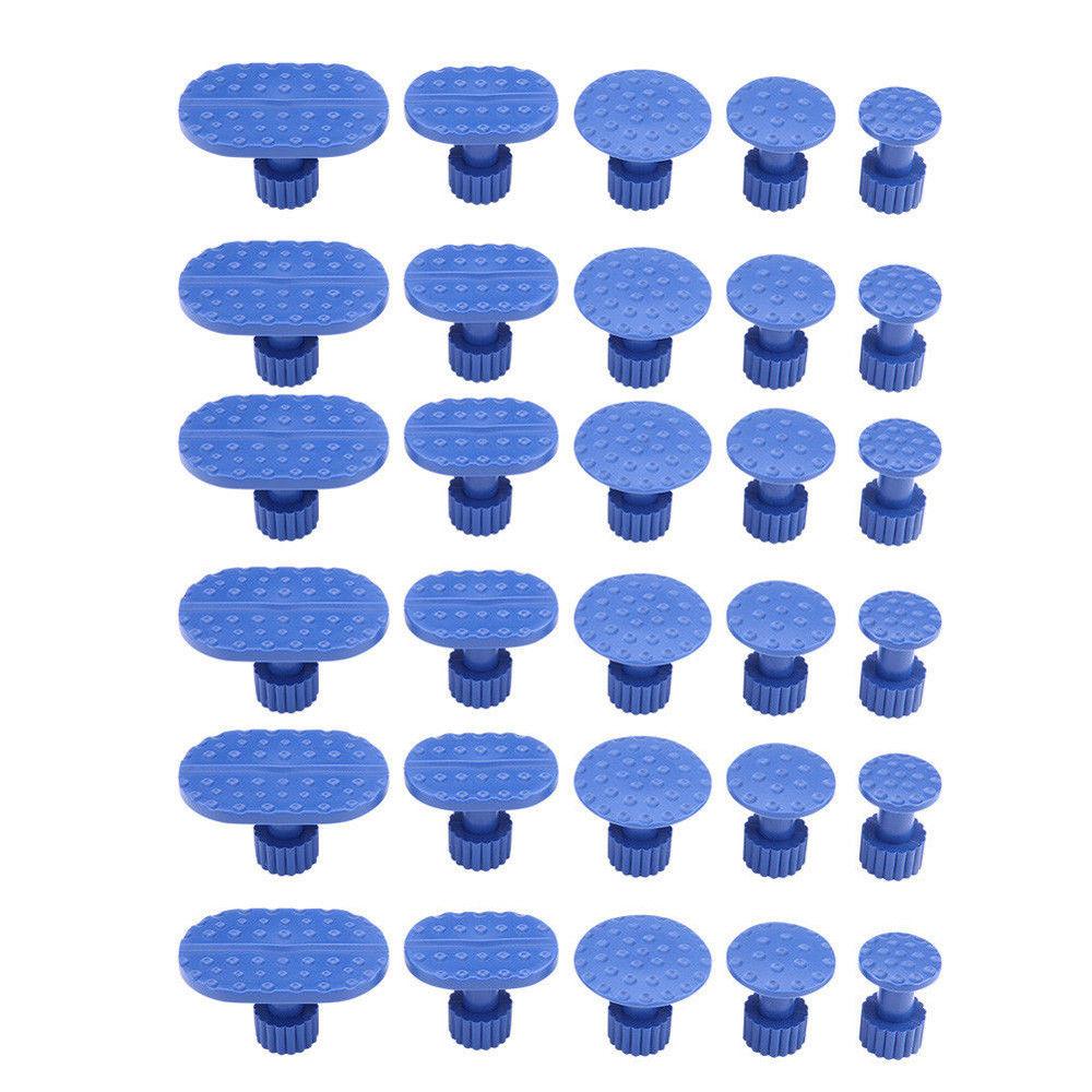 30pcs/set Car Body Paintless Dent Repair Puller Tools Plastic Glue Tabs Removal Set Universal