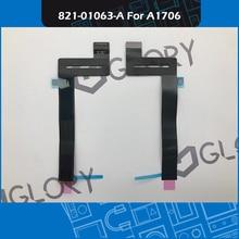 20 ชิ้น/ล็อตA1706 ทัชแพดTrackpad Flexสาย 821 01063 AสำหรับMacbook Pro Retina 13 นิ้วTouch Bar EMC 3071 3163