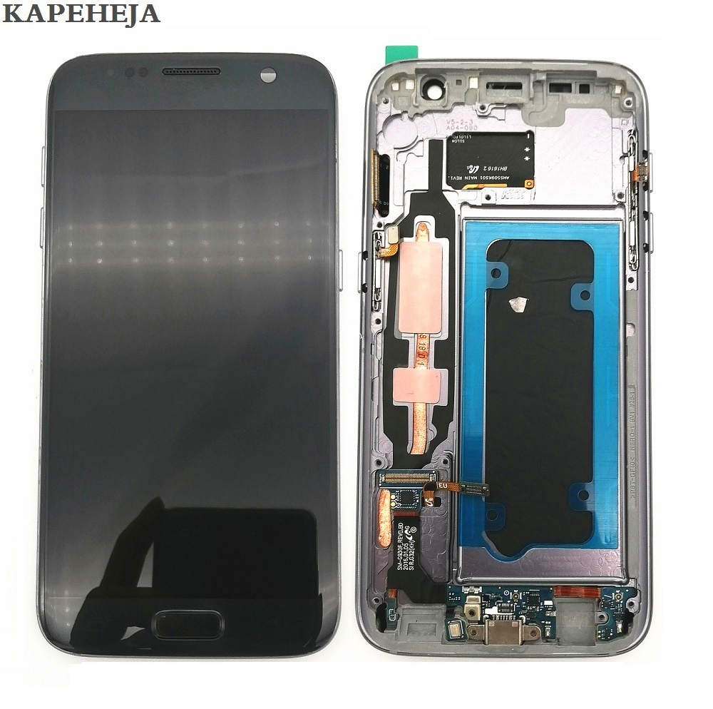Super AMOLED LCD Display For Samsung Galaxy S7 G930 G930F LCD Display Touch Screen Digitizer Assembly