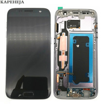 Super AMOLED LCD Display For Samsung Galaxy S7 G930 G930F Touch Screen Digitizer Assembly