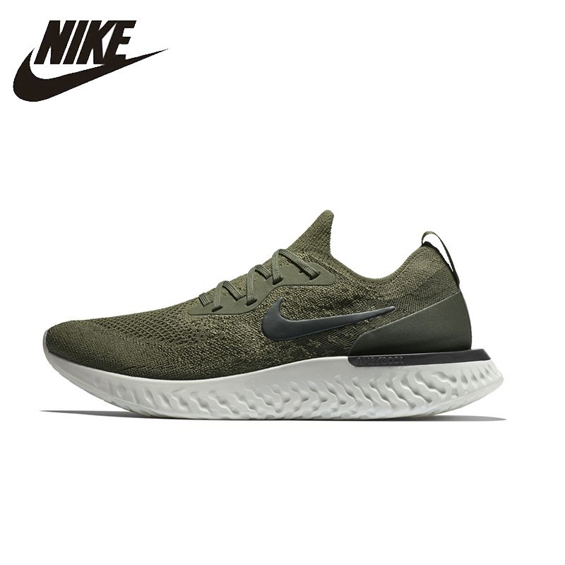 d0eb3a0acb12 NIKE EPIC REACT FLYKNIT Original Womens And Mens Running Shoes Breathable  Stability Support Sports Sneakers Shoes