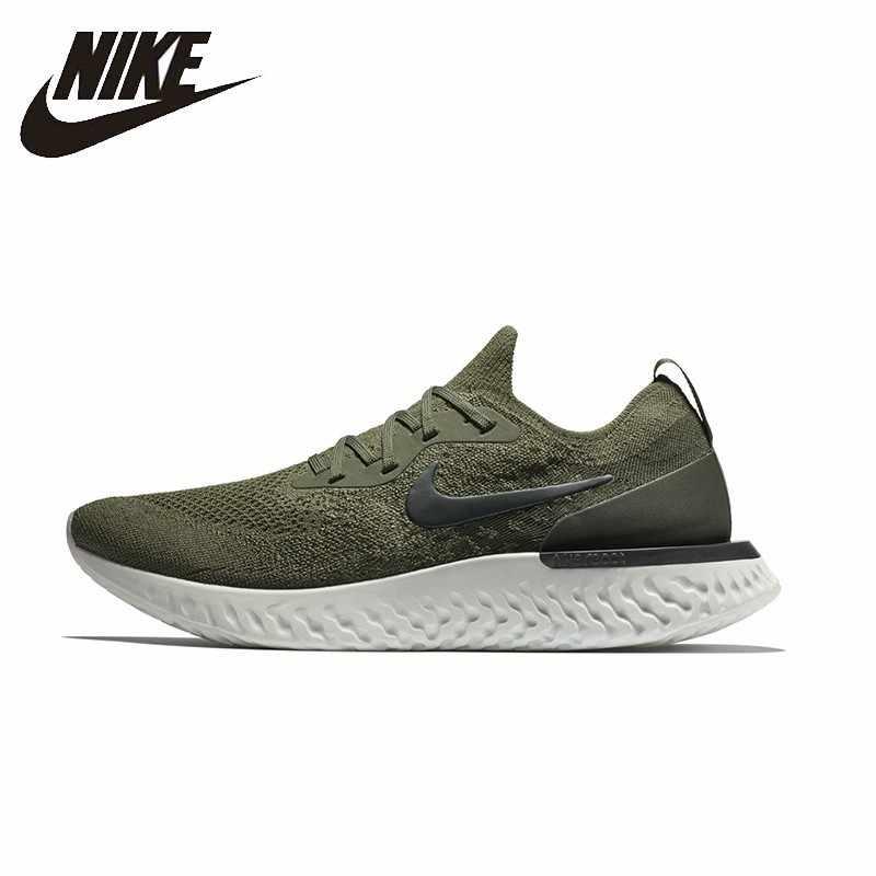 92bd8671de4cfd NIKE EPIC реагировать FLYKNIT оригинальные женские и мужские кроссовки  дышащая стабильность поддержка спортивные кроссовки обувь #
