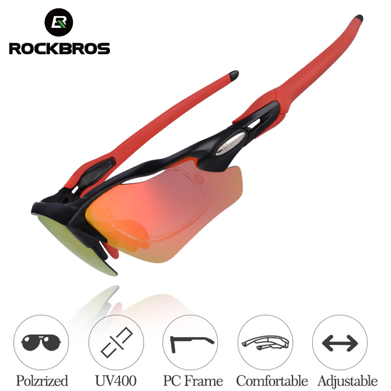 Sports Outdoor Cycling Bicycle Bike Goggles Glasses UV400 Polarized Sunglasses