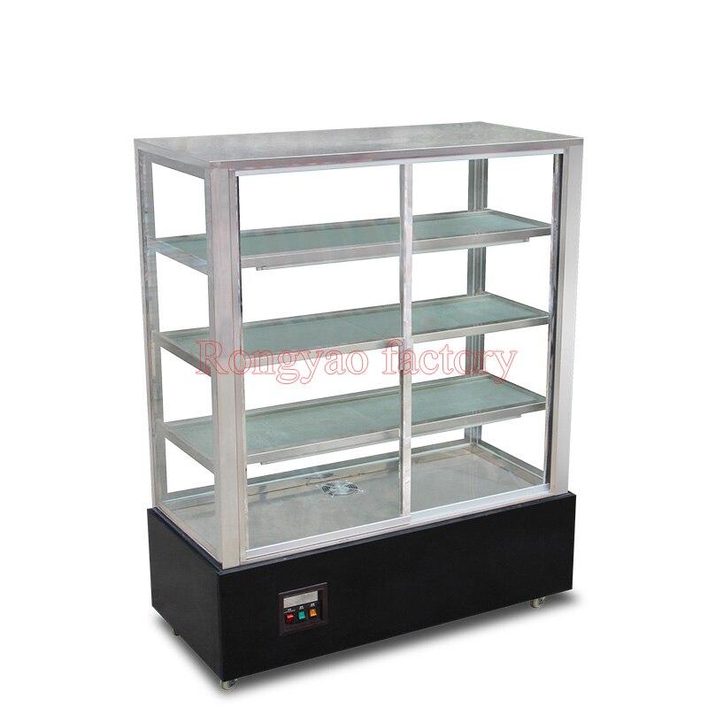 RS 680 коммерческий вертикальный 1,2 м контейнер для хранения горячих блюд витрины случай свежего хранения шкафов витрина