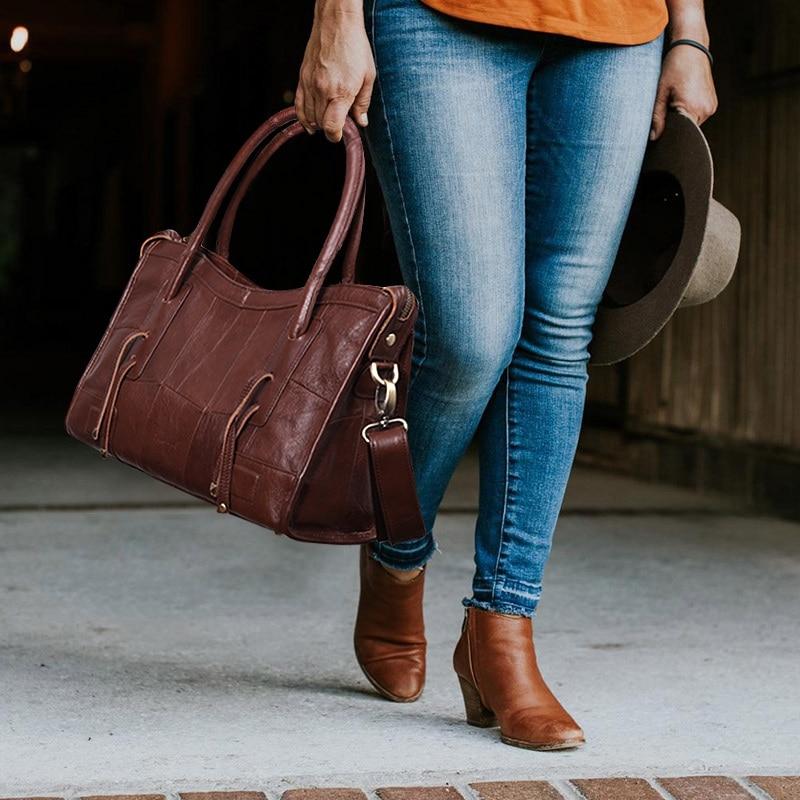Cobbler Legend Original Genuine Leather Women Shoulder Bags 2019 New Leisure Trend Ladies Crossbody Bag For