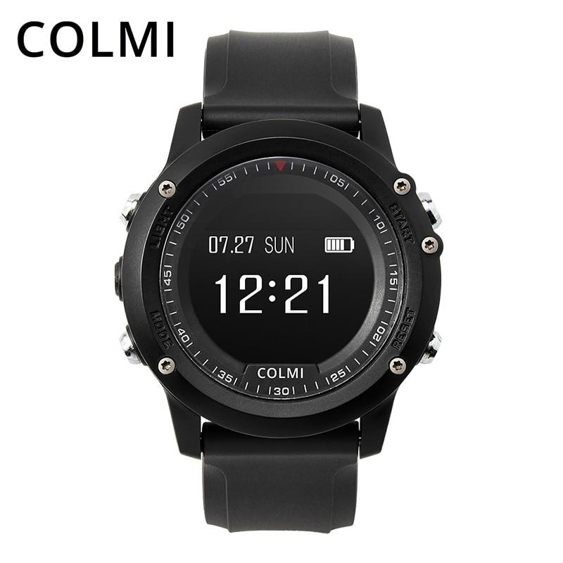 COLMI T2 IP68 Impermeabile Heart Rate Monitor Push Messaggio Chiamata di Promemoria Orologio Bluetooth 4.0 Bordo Uomini di Sport Orologio Intelligente