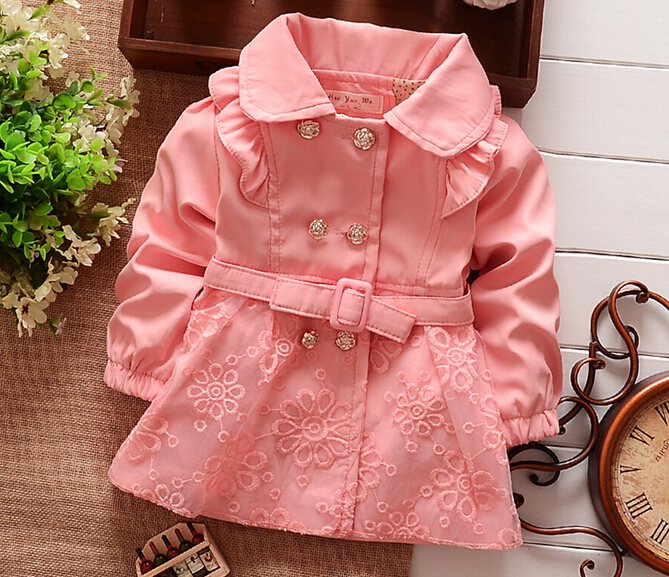 BibiCola Children Outerwear jacket Spring autumn Babi Girls ...