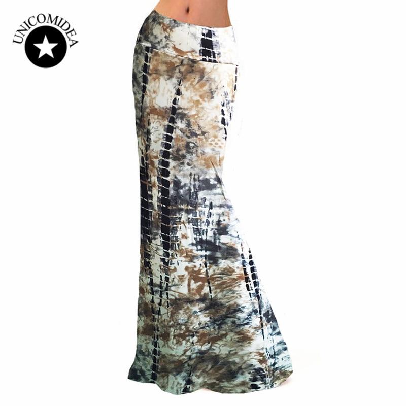2018 Summer Autumn New boho Skirt Women Package Hip Skirts