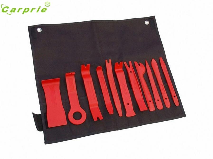 New Arrival 11pcs Car Trim Door Panel Removal Molding Set Kit Pouch Pry Tool Interior Van DIY nr15