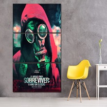 Modular Poster 3 Pieces Canvas Paintings Movie The Purge Election Year Pictures Home Decorative Boys Room Wall Art