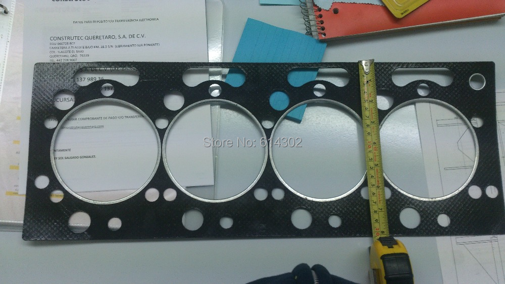 weifang 4102ZD engine parts cylinder head gasket / 4102 series marine